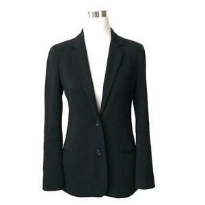 Vince Wool Knit Navy Blue Blazer Womens Size 4
